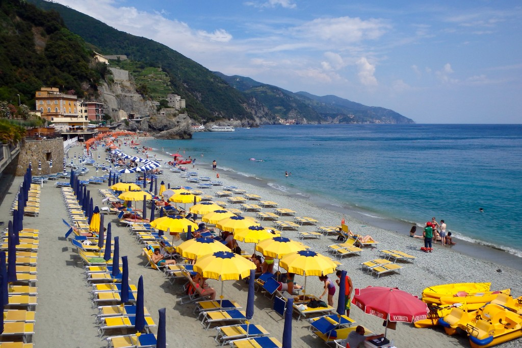 More beach time at Monterosso