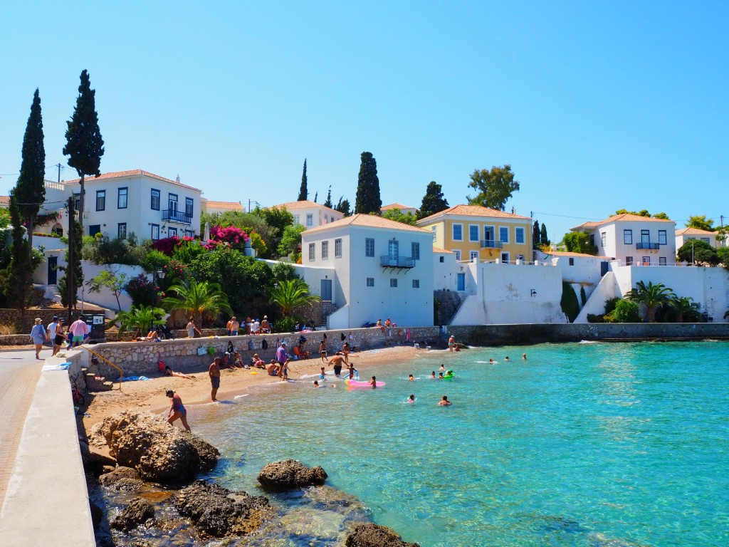 Beach time in Spetses