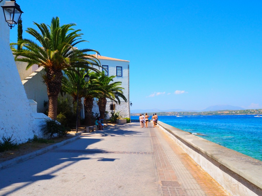 Boulevards in Spetses