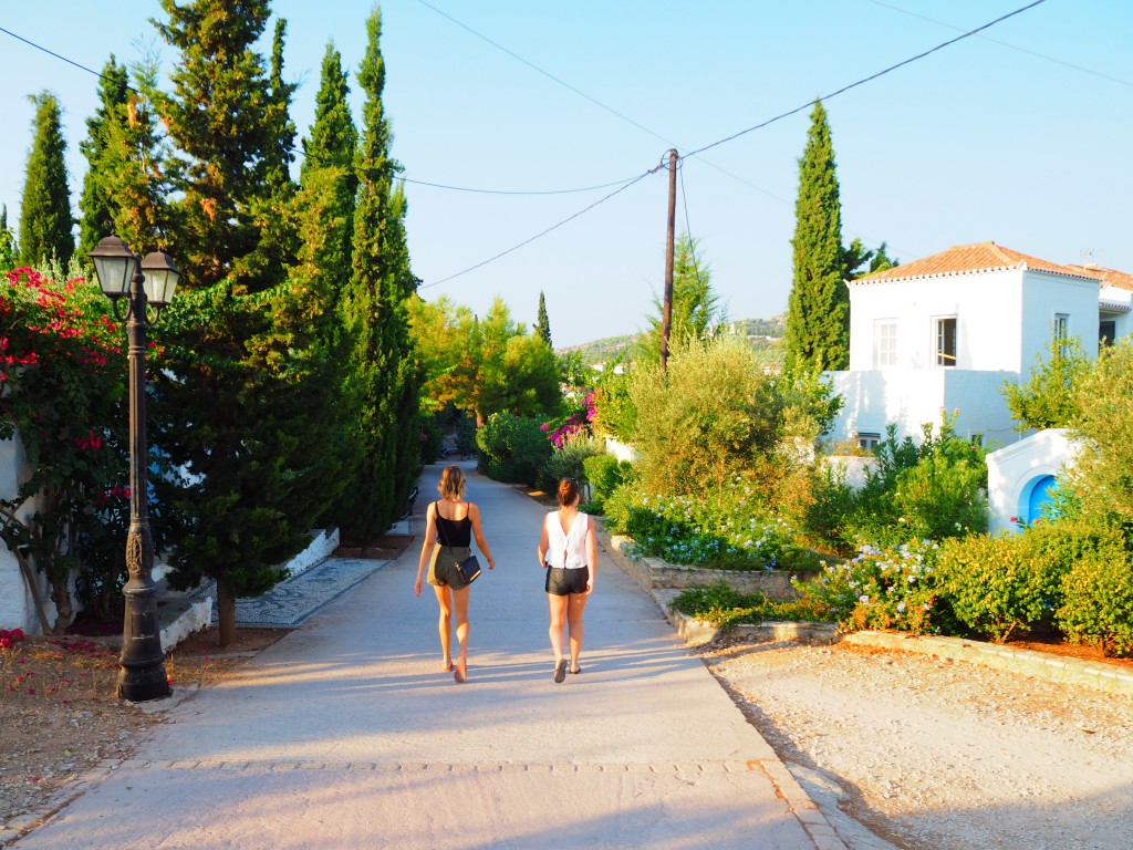Early morning walks through Spetses