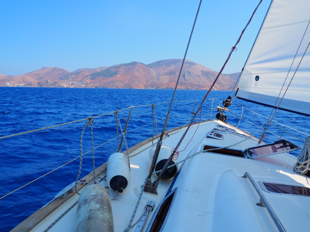 Sailing to Hydra