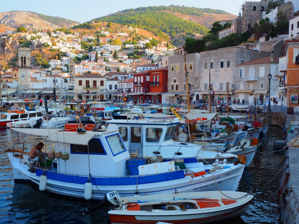 Hydra before sunset