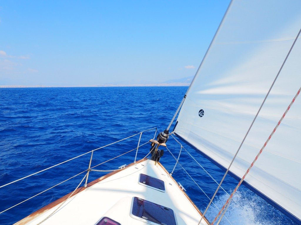 Sailing back to Athens