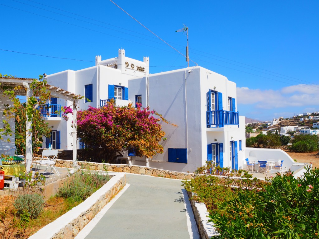 Our apartment in Mykonos