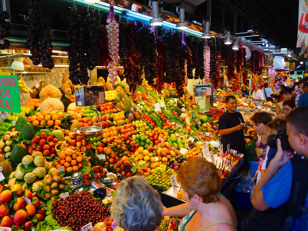 Fruit in the market