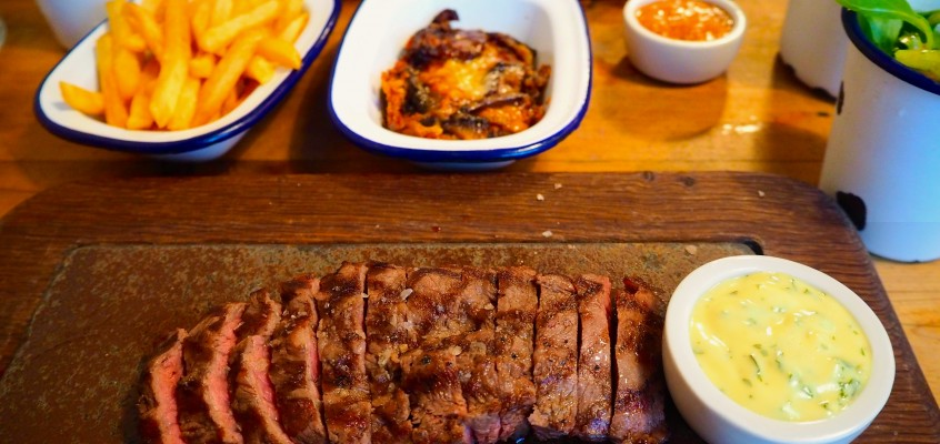 flat iron – cheap, delicious steak in london.