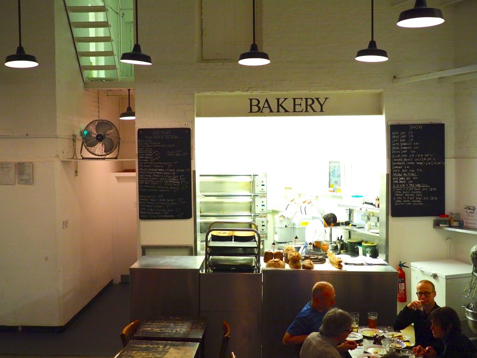 The bakery at St. Johns