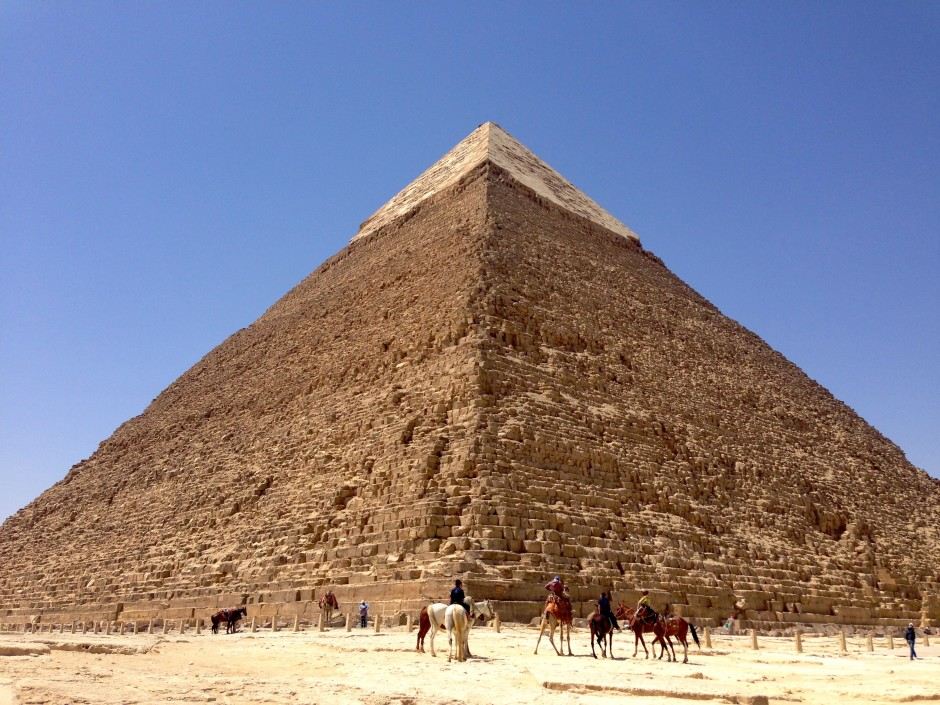 Finally living out my childhood dream of seeing the Great Pyramids of Giza